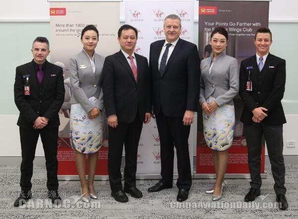 维珍澳洲航空与海南航空签订代码共享协议