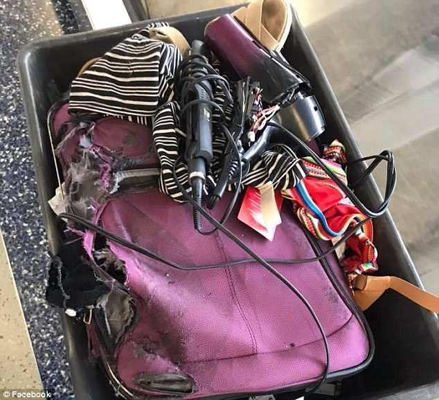 到达时行李箱被毁 美航乘客获赔3500美元