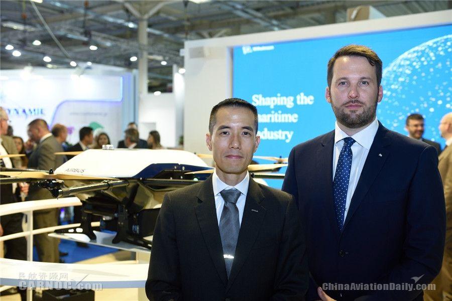 空客与威廉森合作开发海上运输无人驾驶飞机