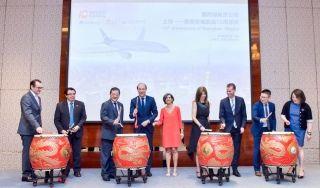 墨西哥航空庆祝上海=墨西哥城航线开通10周年