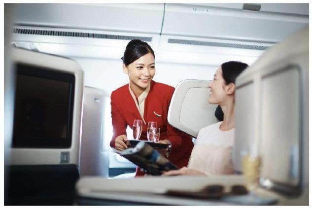 国泰航空将于京沪展示空客A350座椅
