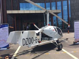 金牛型(JN-1型)自转旋翼机。