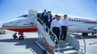 李健调研ARJ21飞机区域化持续运行情况