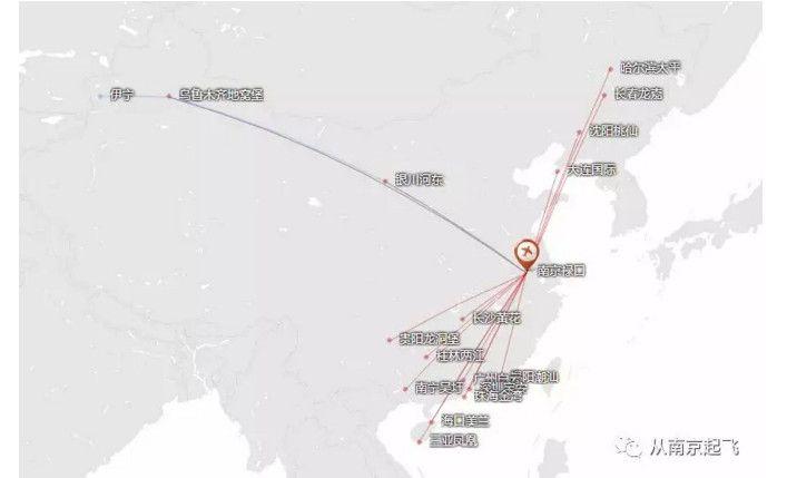 南航扩充南京机场航线网