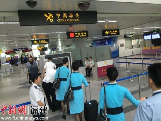 福州长乐机场海关试行出境开放式大厅通关模式