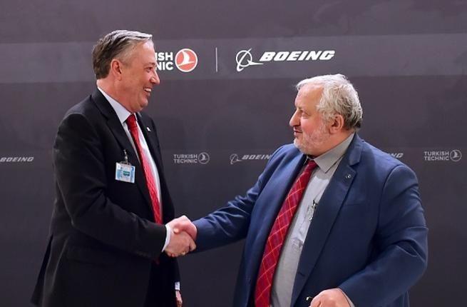 波音与土耳其签署全球飞机维护供应商协议
