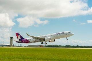 民航早报:夏威夷航空接首架美制A321neo
