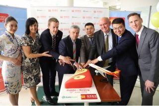 海航开通首条中国大陆直飞都柏林航线