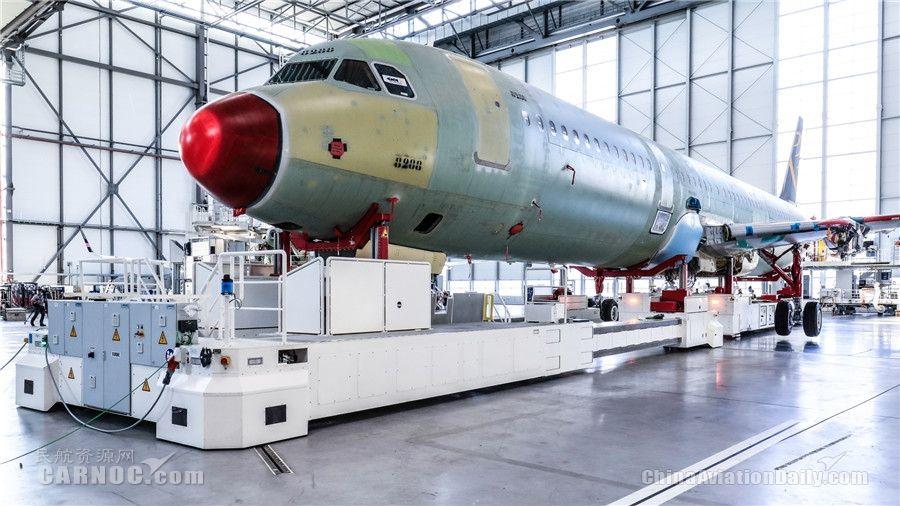 空客汉堡工厂第四条A320系列飞机总装线启用