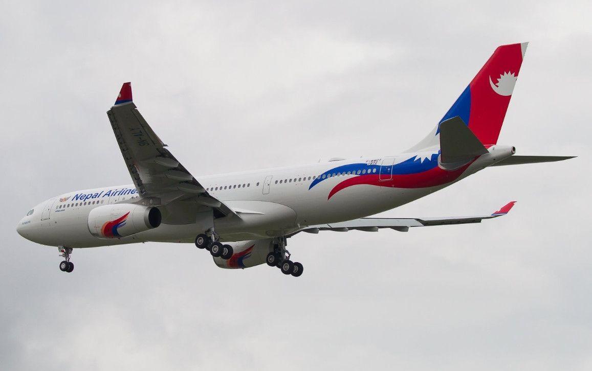 尼泊尔航空首架A330-200宽体客机完成试飞