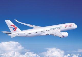 据空客官方微博6月13日消息,中国东方航空首架空客A350XWB宽体飞机在图卢兹空客工厂开始总装。2016年,东航订购了20架A350-900。更宽的座椅,更舒适的客舱,A350XWB将为东航的乘客提供更好的飞行体验。