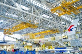 东航首架空客A350XWB宽体飞机进入总装