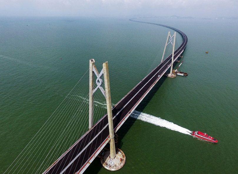 港珠澳大桥。图片来源:南方日报