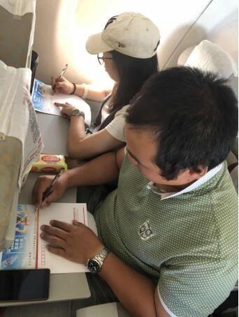 北部湾航空举办父亲节手写家书活动