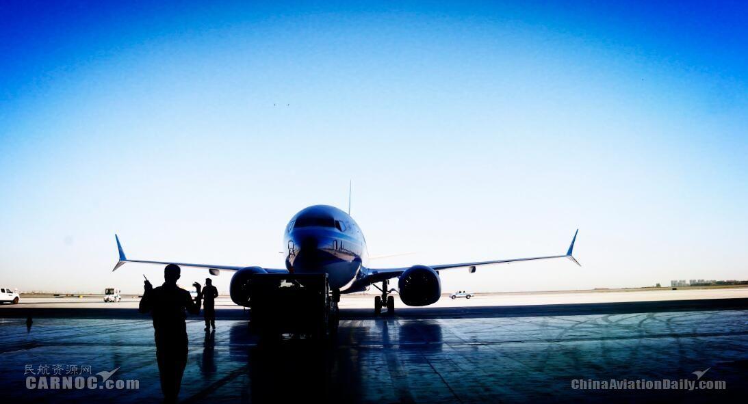南航新疆维修基地完成国内首架B737MAX换发