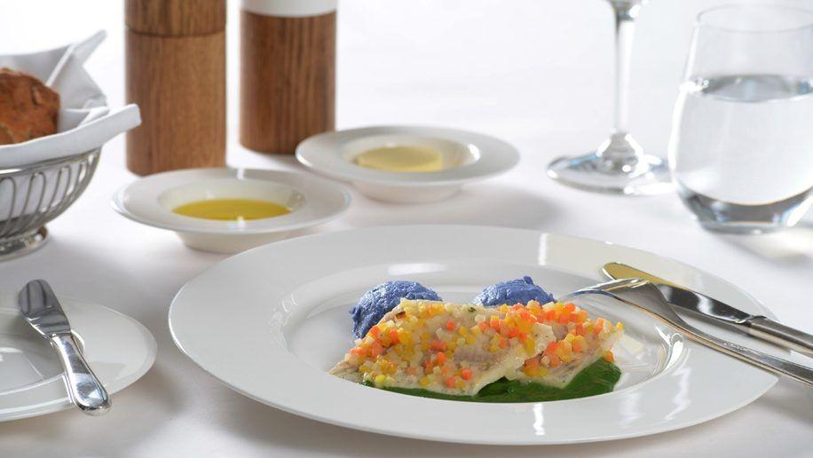 美食诱惑——飞机餐食集锦