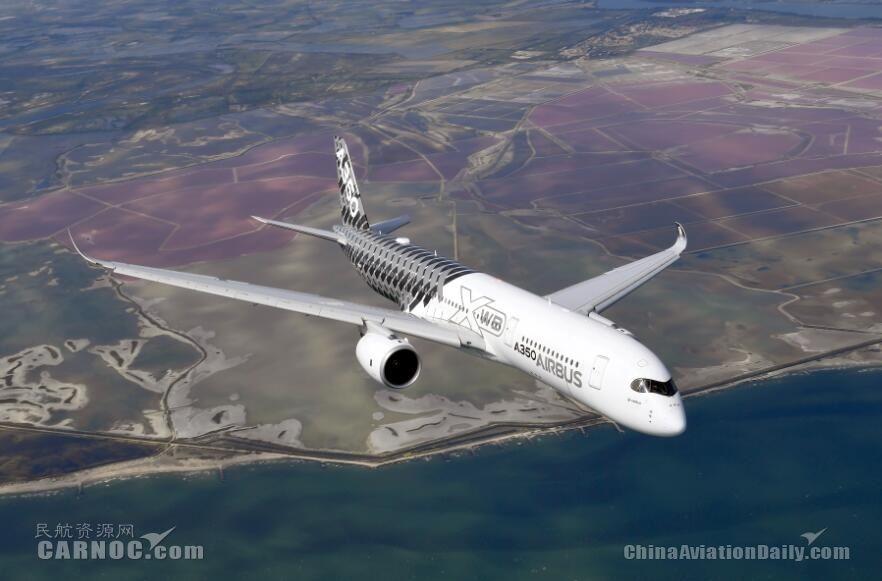 消息人士称俄航原A350订单或翻番至28架