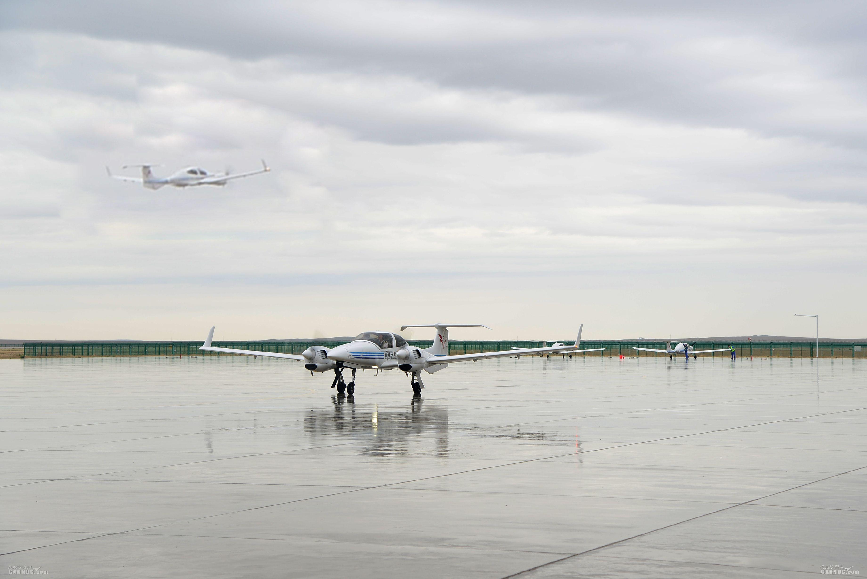 富蕴机场降雨天气下积极做好飞行训练保障