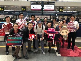 香港航空庆祝京港线开航十周年 拟投入A350运营