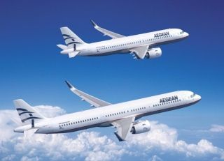 爱琴海航空确认30架空客A320neo飞机订单