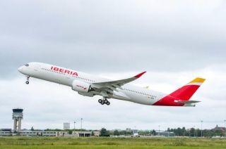 伊比利亚航空接收首架A350飞机 配新型小翼