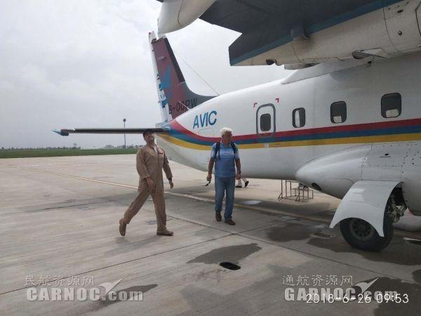 美国联邦航空管理局驾驶员检查试飞飞机 摄影:董王南