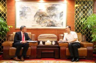 中南局与UPS公司增进合作开展沟通