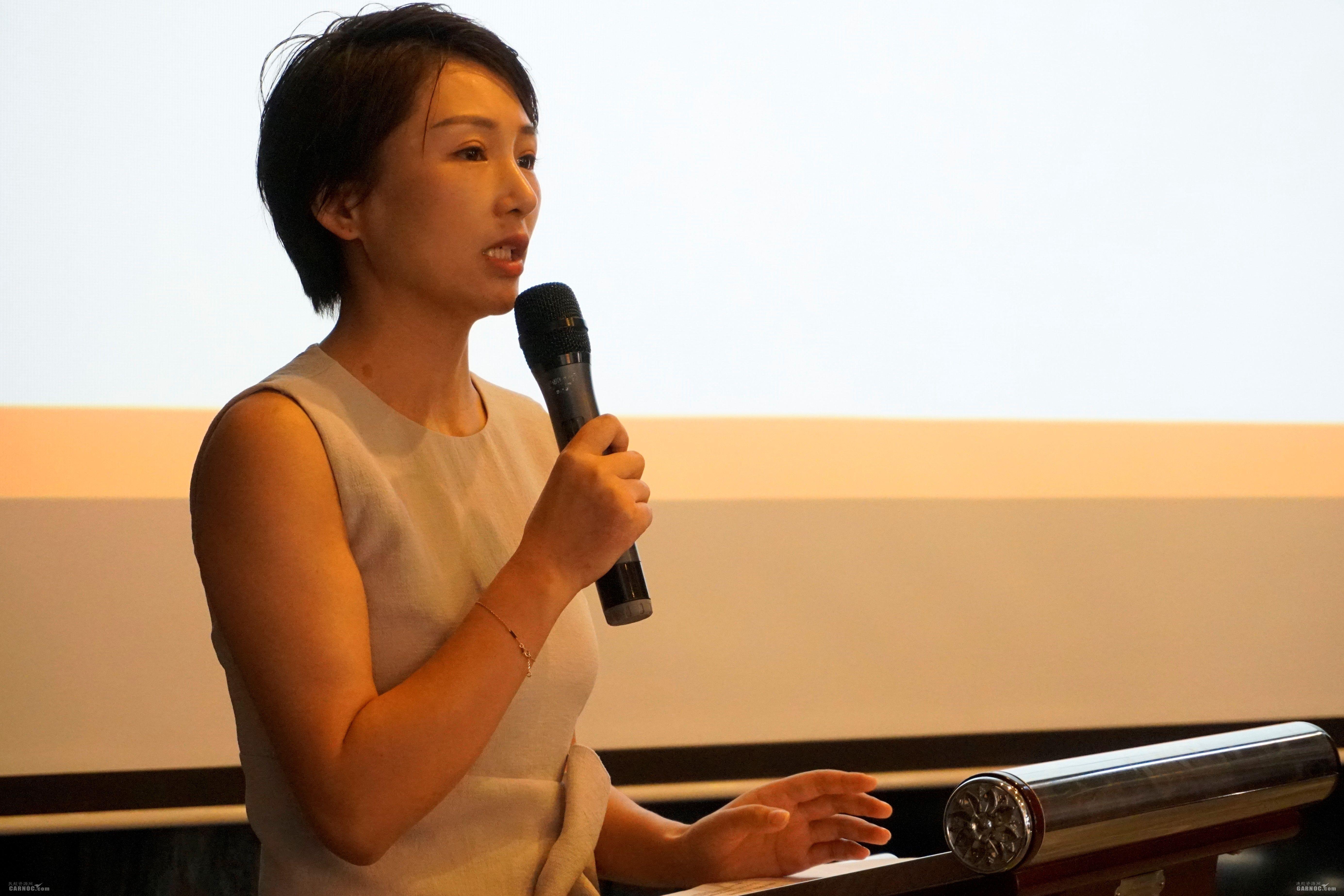 北京商务航空协会副秘书长周丽媛