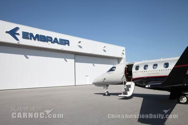 巴航工業交付亞太地區首架飛鴻300E公務機