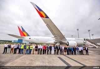 菲律宾航空将引进首架空客A350-900XWB