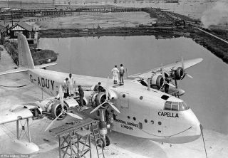 Imperial Airways Short S.23s
