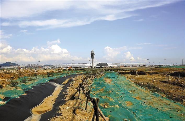 深圳机场飞行区扩建 T4航站楼将来在这里