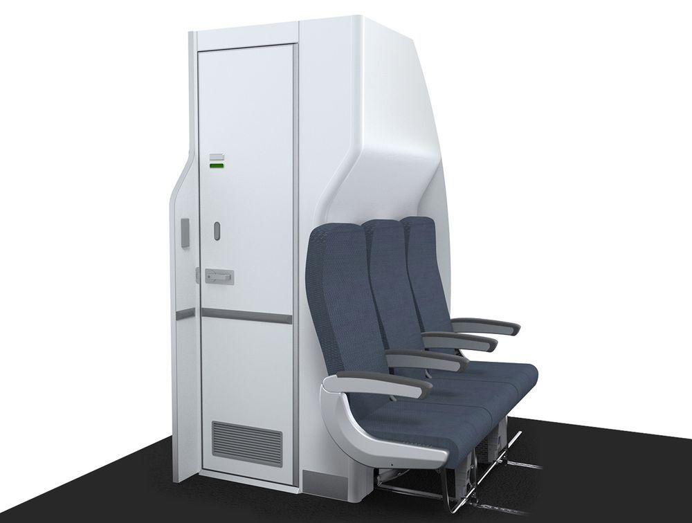 飞机洗手间变窄?这真的不是你的错觉!