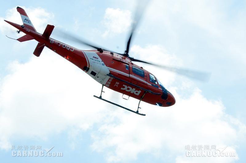 江西金汇救援直升机首次参与空中灾情查勘