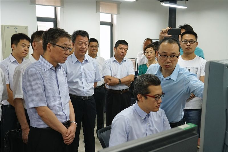 王志清到民航空管设备保障与测试基地调研