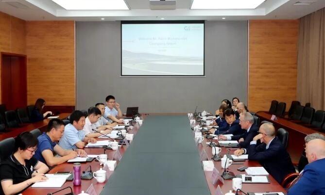重庆机场集团与米兰机场集团举行会谈