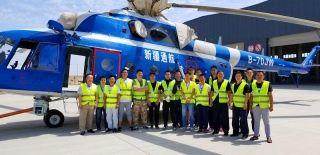 西南局跨区域对新疆通航设备安装进行适航检查