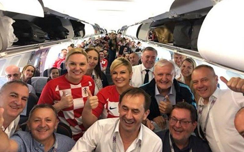 克罗地亚首进世界杯决赛 2000球迷乘包机看决赛