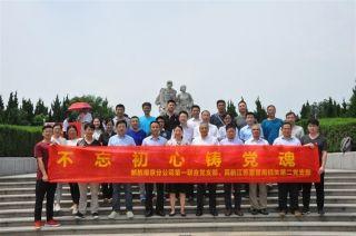 邮航南京分公司与江苏监管局开展主题党日活动