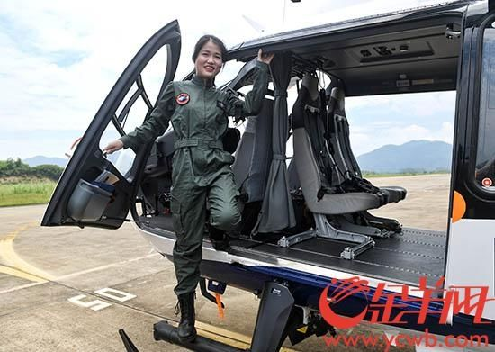广东唯一会开飞机的女警察是怎样炼成的?