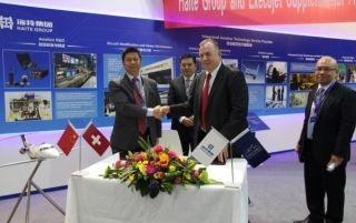 海特与宜捷航空签约 增强公务机大修MRO地位