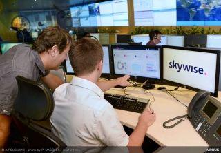 """空客将""""智慧天空""""数据平台应用扩展至供应商"""