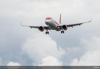 易捷航空接收其首架空客A321neo飞机