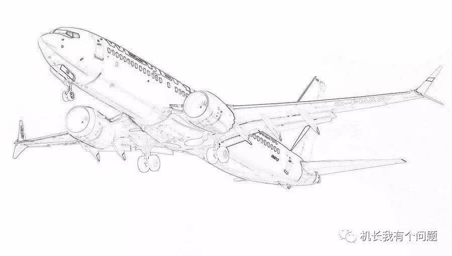 波音737-MAX机型