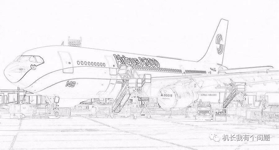 空客A300机型