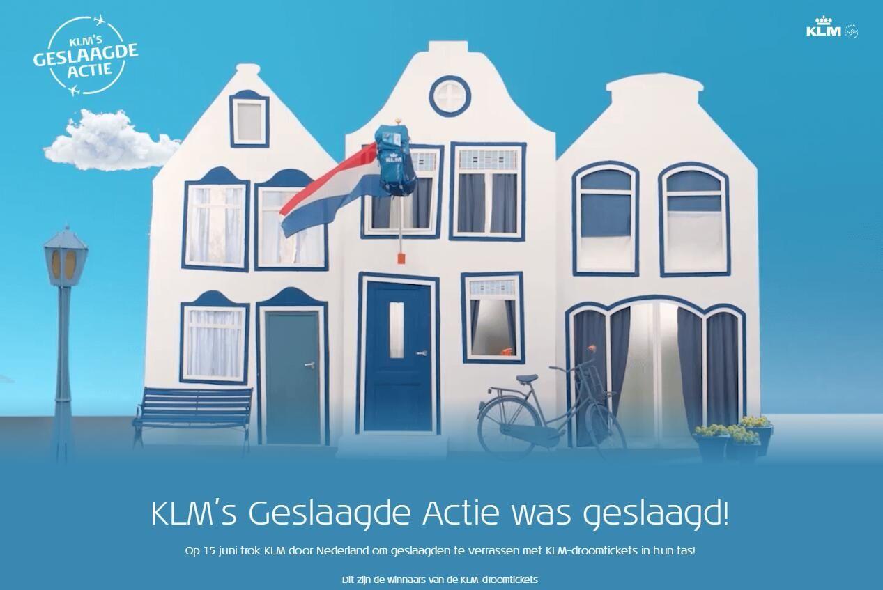 荷兰皇家航空给高中毕业生送机票