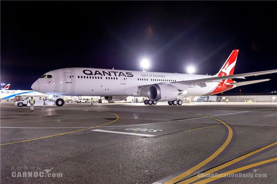 澳洲航空宣布以梦幻客机执飞香港航线