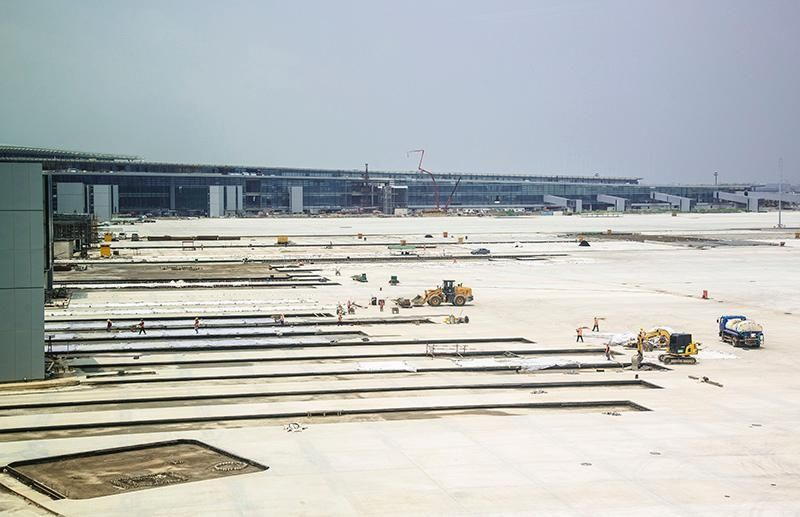 图片 浦东机场卫星厅2019年建成投运