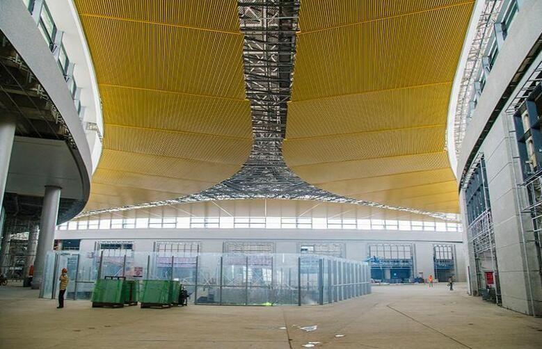 浦东机场卫星厅2019年建成投运