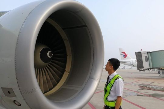 0荐闻榜 (供稿:中国东方航空股份有限公司山东分公司青岛飞行部